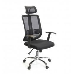 Кресло Сити CH SR(L) черный А-класс