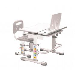 Комплект парта и стул-трансформер Lavoro Grey FunDesk