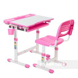 Комплект парта и стул Cantare Pink FunDesk