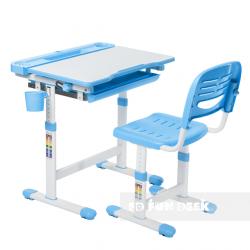 Комплект парта и стул Cantare Blue FunDesk