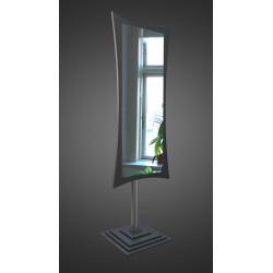 Зеркало напольное на основе ЛДСП Art-com N2 Черный
