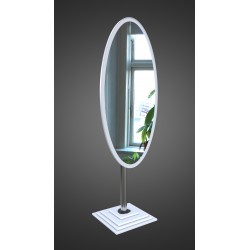 Зеркало напольное на основе ЛДСП Art-com N1 Белое