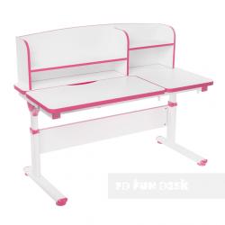 Парта с надстройкой Creare Pink FunDesk