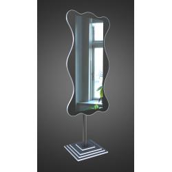 Зеркало напольное на основе ЛДСП Art-com N4 Черно-белый