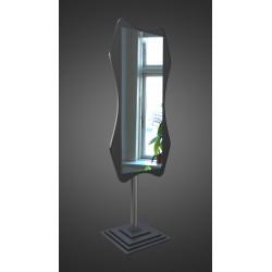 Зеркало напольное на основе ЛДСП Art-com N5 Черный