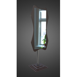 Зеркало напольное на основе ЛДСП Art-com N5 Венге 60х190 см