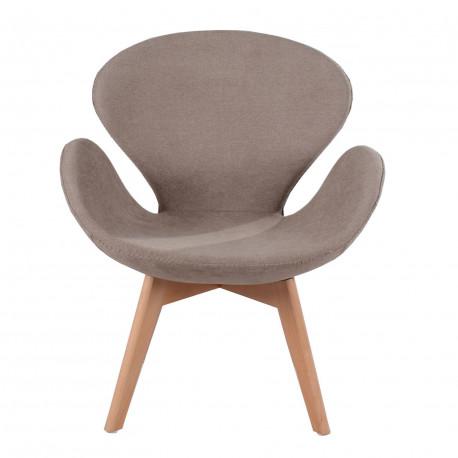 Кресло Сван Вуд Армз коричневый Группа СДМ