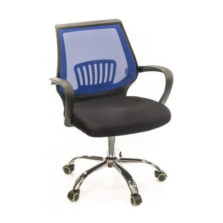 Кресло Ларк CH PR синий А-класс