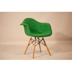 Кресло Onder Mebli Леон Софт Шерсть Зеленый W-17