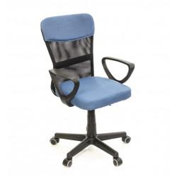Кресло Тезия PL PR синий А-класс