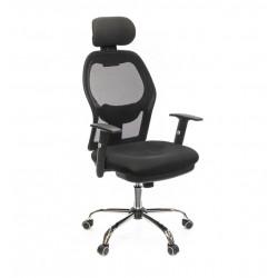 Кресло Сиона CH SR(L) черный А-класс