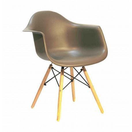 Кресло Onder Mebli Леон Серый 21