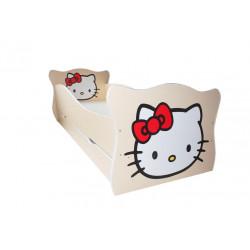 Кровать с ящиком Viorina-Deko Animal 1 Китти Крем