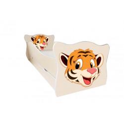 Кровать с ящиком Viorina-Deko Animal 4 Тигренок Крем
