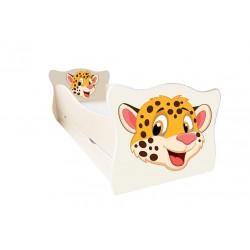 Кровать с ящиком Viorina-Deko Animal 7 Гепард Крем