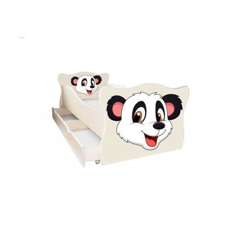 Кровать с ящиком Viorina-Deko Animal 9 Панда