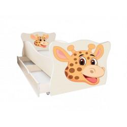 Кровать с ящиком Viorina-Deko Animal 14 Жираф