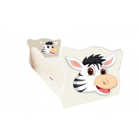Кровать с ящиком Viorina-Deko Animal 16 Зебра