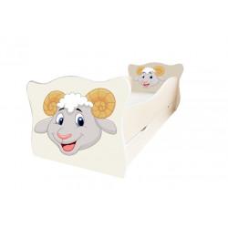 Кровать с ящиком Viorina-Deko Animal 12 Бараш