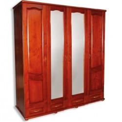 Шкаф с зеркалом четырехдверный ТеМП