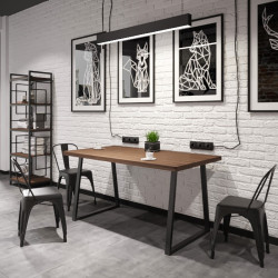 Стол Бинго Оверлайт 120 Металл-Дизайн Лофт
