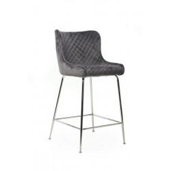 Барный стул Vetro Mebel В-120-1 Серый