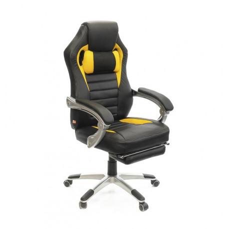 Кресло Стрендж PL SR чёрно-желтый А-класс