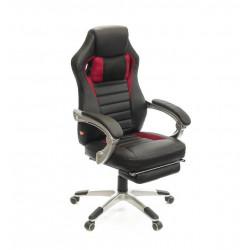 Кресло Стрендж PL SR чёрно-красный А-класс