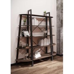 Комплект 5 полок Призма Металл-Дизайн Лофт