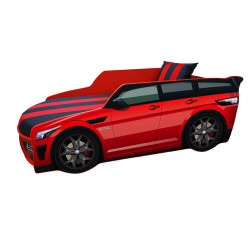 Кровать+матрас Viorina-Deko Premium Красный