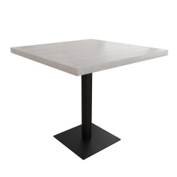 Стол Тренд 1 основа 6 мм Металл-Дизайн Лофт