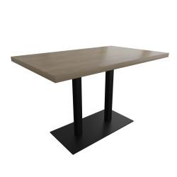 Стол Тренд 1 двойной основа 6 мм Металл-Дизайн Лофт