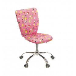 Кресло Кеви CH TILT розовые пузырьки А-класс