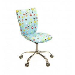 Кресло Кеви CH TILT голубые пузырьки А-класс