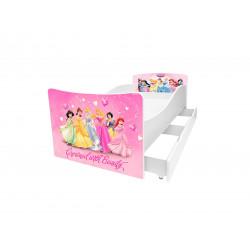 Кровать с ящиком Viorina-Deko Kinder 20 Принцессы