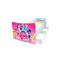 Кровать с ящиком Viorina-Deko Kinder 30 Литл Пони