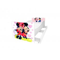 Кровать с ящиком Viorina-Deko Kinder 35 Минни и Микки Маус