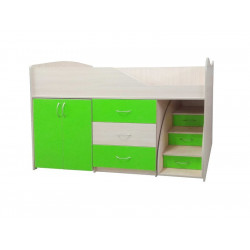 Кровать-комната №5 Viorina-Deko Лайм