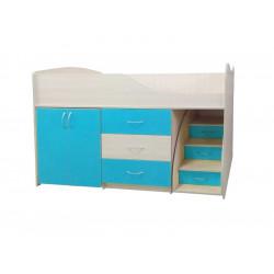 Кровать-комната №5 Viorina-Deko Морская волна