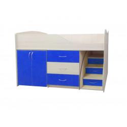 Кровать-комната №5 Viorina-Deko Синий
