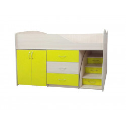 Кровать-комната №5 Viorina-Deko Желтый
