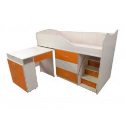 Кровать-комната №5 со столом Viorina-Deko Оранж