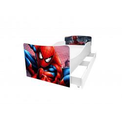 Кровать с ящиком Viorina-Deko Kinder 43 Человек-паук