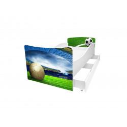 Кровать с ящиком Viorina-Deko Kinder 47 Футбол