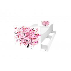Кровать с ящиком Viorina-Deko Kinder 50 Сакура