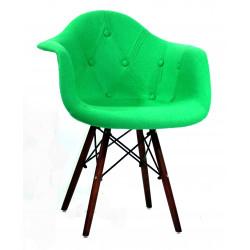 Кресло Onder Mebli Леон Софт W Шерсть Зеленый W-17