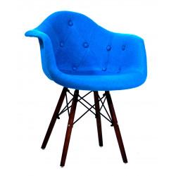 Кресло Onder Mebli Леон Софт W Шерсть Синий W-5