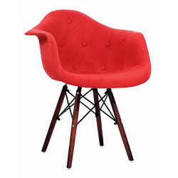 Кресло Onder Mebli Леон Софт W Вискоза Красный К-9