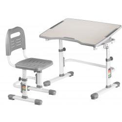 Комплект парта и стул-трансформер Vivo II Grey FunDesk