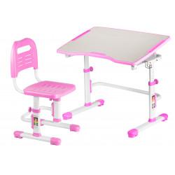 Комплект парта и стул-трансформер Vivo II Pink FunDesk